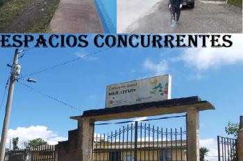 Desinfección de espacios públicos, comunidades y recintos de la Parroquia